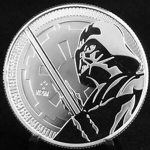 2018-1oz-NIUE-999-SILVER-STAR-WARS-DARTH-VADER-LIGHTSABER-COIN-FREE-SHIPPING