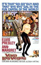 ELVIS PRESLEY     VIVA LAS VEGAS    FILM POSTER  FRIDGE MAGNET