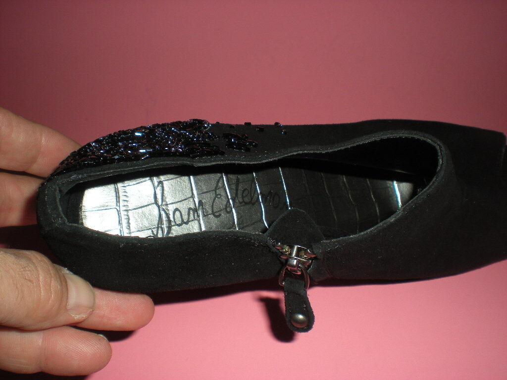 NEW BOOTS SAM EDELMAN UNA SUEDE PLATFORM DRESS BOOTS NEW 9 US 40 5a87cf