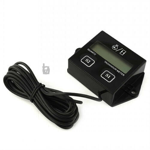 LCD Tachometer Hour Meter Maitenance Meter RPM Hour Fits Small Engine All Models