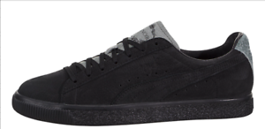 98e95864b79a Image is loading Puma-Clyde-En-Noir-Black-Men-Size-9-
