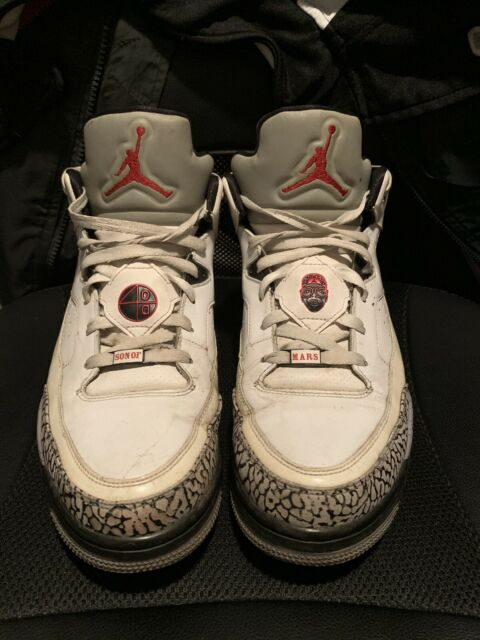 ae6bd683ebc06b Jordan Son of Mars Low 580603-101 Size 12 Retro Nike Air Flight Force  Spizike for sale online