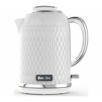 BREVILLE Curve VKT117 Jug Kettle - Chrome White - Currys