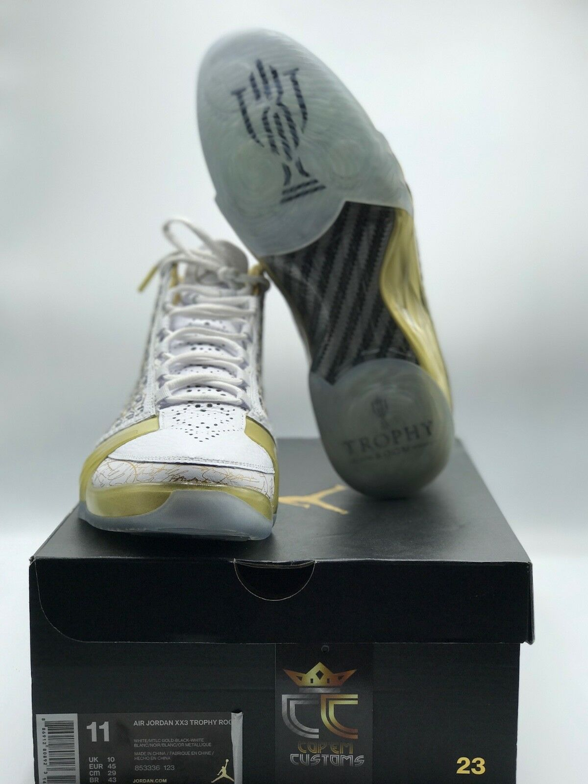 PRE-OWNED Air Jordan XX3 'Trophy Room White' SIZE 11 STYLE