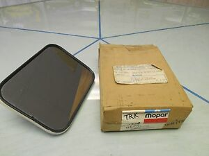 1961-68-Dodge-Truck-Outside-Mirror-NOS-MOPAR-Part-2502194-W-orig-Box-amp-ticket