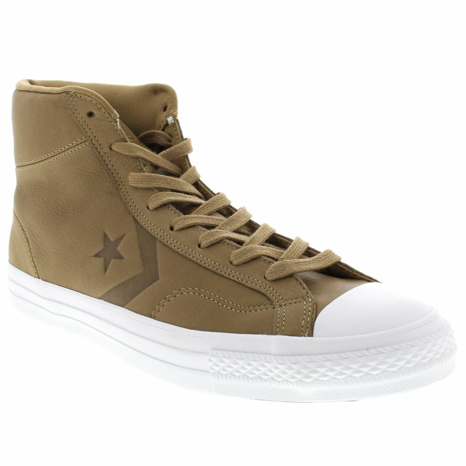 Converse Unisex Star Player Hi Leather Trainers