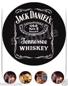Essbar Whiskey Flasche Jack Daniels Deko Tortenaufleger Neu