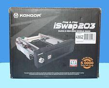 KOMQOR 5.25 Inch SATA 2 Enclosure for 3.5 Inch Hard Drives