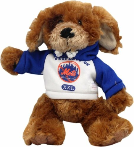 "New York Mets Stuff Animal Dog W//Hoodie 6/"" Plush 12113"