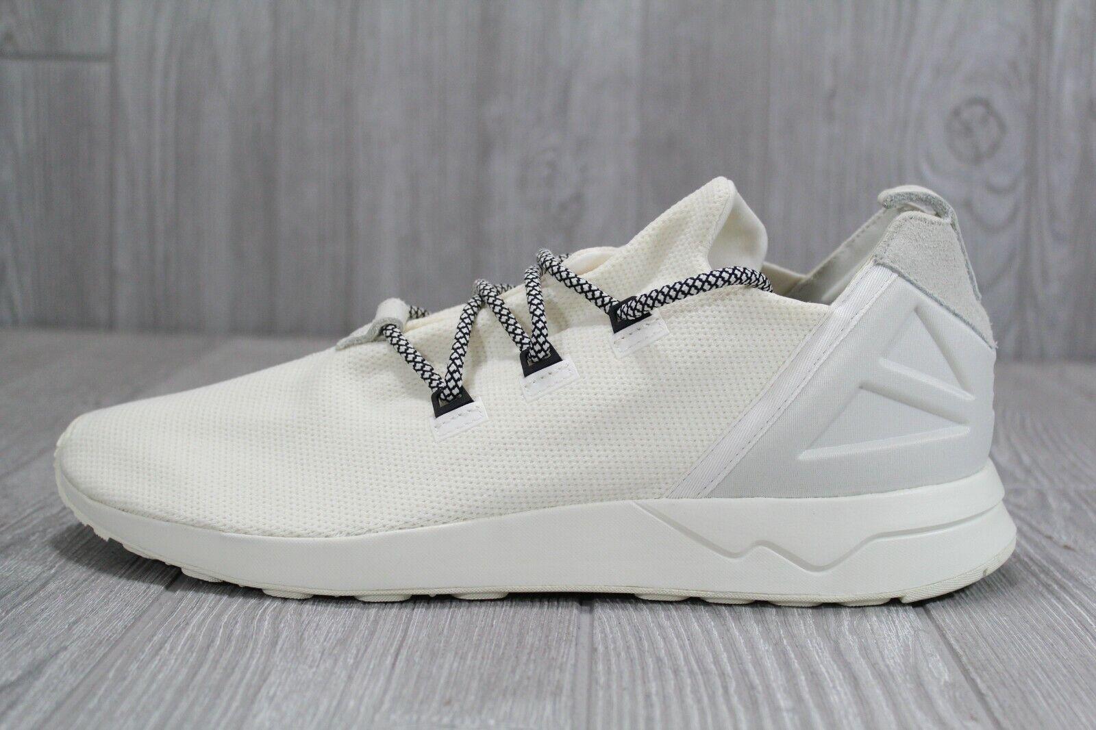 newest d7173 adf19 38 Rare Adidas Original Men's ZX Flux ADV X White Shoes Size 12 B49403