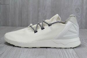 brand new 87bc8 fbf0a Details about 38 Rare Adidas Original Men's ZX Flux ADV X White Shoes Size  12 B49403