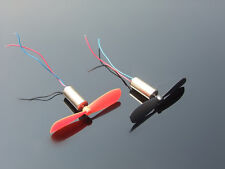 2pcs DC3.7-4.2V 716 7*16MM Micro DIY Helicopter Coreless DC Motor With Propeller
