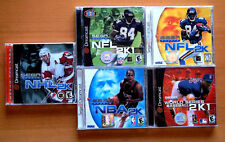 Sega dreamcast lot of 5 games, all complete in cases with manuals