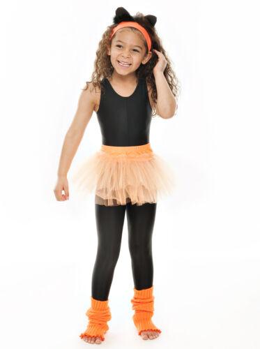 Girls Ladies Orange Ballet Dance Fancy Dress 3 Net Layer Soft Tutu Skirt By Katz