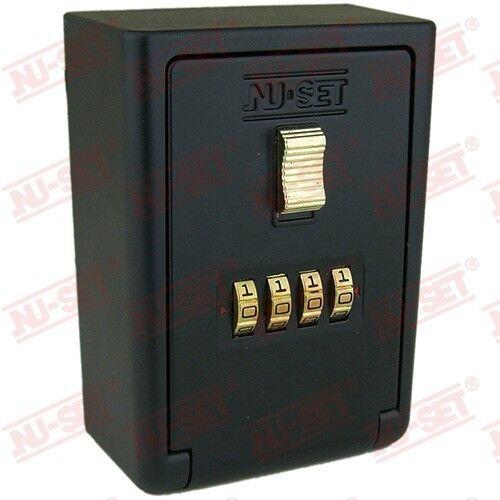 Wall Mount Key Storage Lock Box 4-Number Lockbox medical emergency seniors