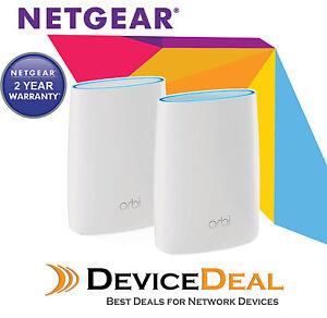 Details about NETGEAR Orbi AC3000 Tri-band WiFi Router System RBK50  Australian Warranty