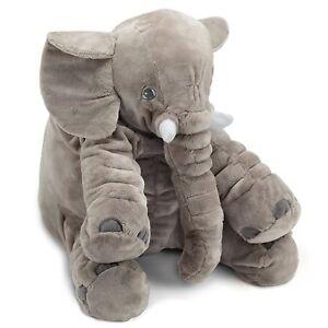 IKEA JATTESTOR Soft Toy Elephant Grey 23.5 Inch Stuffed Animal Plush Large 9f82d6ce8