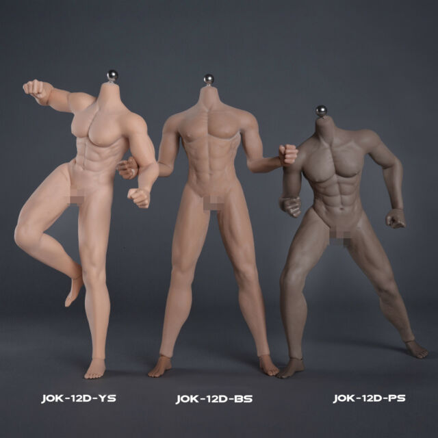 Play Toy MB001 Man Male Strong Muscular 1//6 Action Figure Body Collection Model