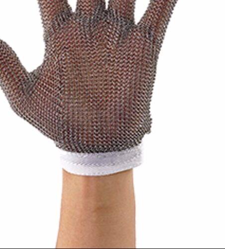 Small Reversible White Protective Mesh Glove Winco PMG-1S