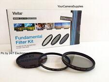 Filter Kit 72mm ND8 UV CPL Neutral Density CIRCULAR Polarizing Ultra-violet FKND