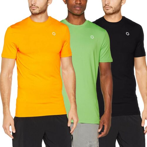 Gregster Herren Sportshirt Laufshirt Sport Shirt Funktionsshirt Trainigsshirt