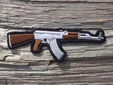 ECUSSON PATCH THERMOCOLLANT aufnaher toppa ARME armée pistolet revolver fusil 3