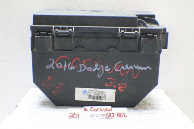 2010 Dodge Journey Fuse Box Relay Unit Rt226202f7 Module 2o7 802