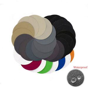 5'' 125mm Hook and Loop Sanding Disc 60 - 10000 Grit Wet or Dry Sandpaper Pads