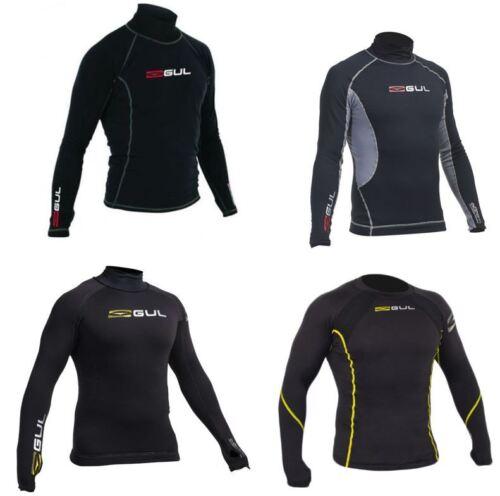 GUL MENS L/S EVOTHERM Wetsuit Guard Thermal Rash Vest Canoe Kayak Base Layer UV+