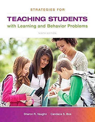 Strategies for Teaching Students with Learning and Behavior Problems, Enhanced..