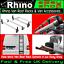 Ford Transit Custom Roof Rack Bars x2 Rhino With Roller SWB-L1 LWB-L2 2013-2019
