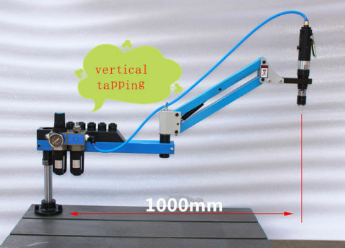 New Vertical Type Pneumatic Air Tapping Machine M3-M12 1000mm a