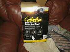 Surprising Cabelas Trailgear Seat Cover For Bucket Seats Tan For Sale Dailytribune Chair Design For Home Dailytribuneorg