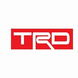 Image Is Loading Cut Toyota Racing Development Trd Decals An