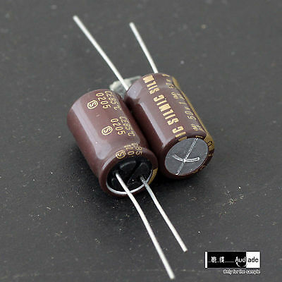 8PCS 1uF 50V ELNA SILMIC Hi-End audio silk big size capacitors Japan Made