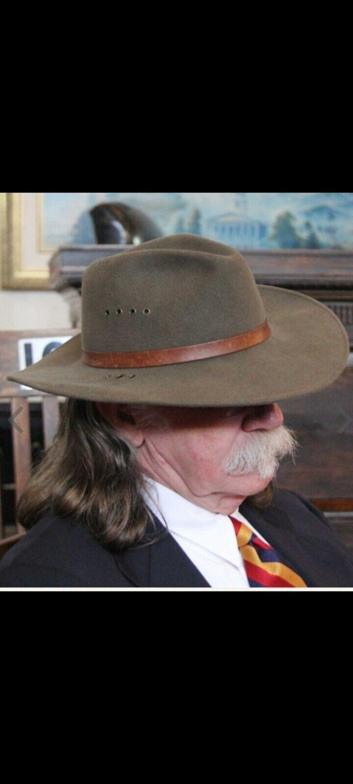 Colonel littleton Hat Color Putty 3 inch Brim Siz… - image 1
