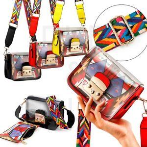 Women-Mini-Transparent-PVC-Plastic-Cross-body-Durable-Summer-Shoulder-Bag