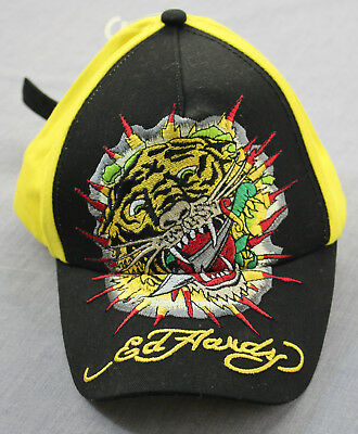 Ed Hardy Kids Black Born Free Embroidered  Graphics Youth Boy/'s One Size NWT