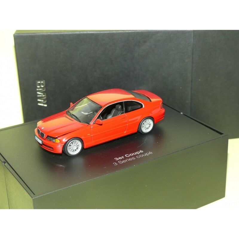 BMW SERIES 3 E36 COUPE red MINICHAMPS 1 43