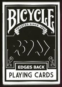 1 DECK Bicycle Edges custom playing cards