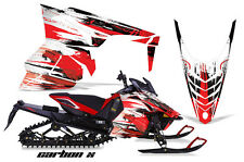AMR Racing Yamaha Viper Graphic Kit Snowmobile Sled Wrap Decal 13-14 CARBON X R