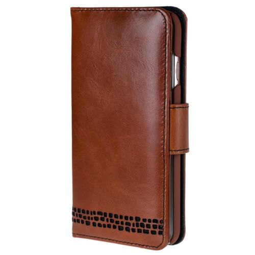 For Right Handers iPhone 6 6S Leather Wallet Case Premium Genuine Leather