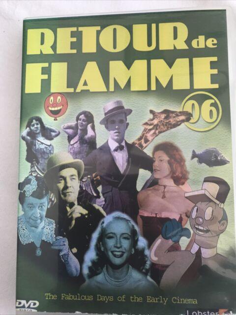 Retour De Flamme: 06 DVD (2007) Stan Laurel Rare Free P&P Good