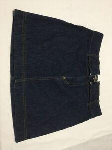 Women's Clothing Clothing, Shoes & Accessories Dickies 18 Denim Jean Summer Skirt Knee Length Back Slit