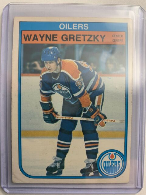 1982-83 O-Pee-Chee Base #106 Wayne Gretzky Edmonton Oilers SP Good Condition