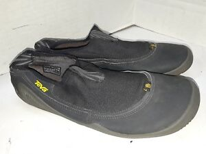 301edbea7c91 Image is loading Teva-Nilch-Water-Shoes-Black-Womens-Size-9
