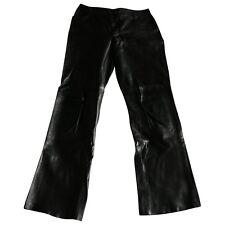 Joseph Leather Trousers Size: IT 42 UK 10 US 6