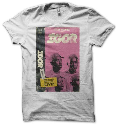 Igor Tyler Okonma Men/'s White T-Shirt S-XXXL