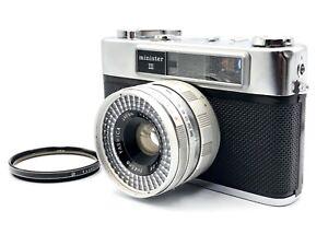 YASHICA-MINISTER-3-45mm-1-2-8-Rangefinder-Film-Camera-From-Japan