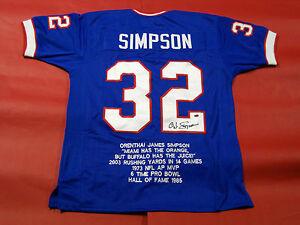 oj simpson jersey